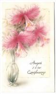 AUGURI É IL TUO COMPLEANNO - Voeux Pour Ton Anniversaire - Fleurs, Vase - Anniversaire