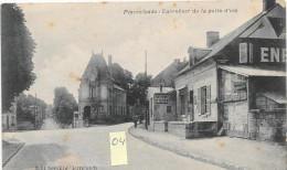 PIERREFONDS  60  Carrefour De La Patte D'Oie Animée + Enseignes - Pierrefonds