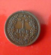 1 Krajczar 1869 - Hongrie