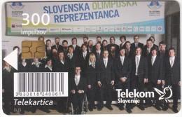 SLOVENIA SLOVENIJA PHONECARD 2010 XXI. ZOI VANCOUVER OLYMPIC GAMES SPORT EVENTS  TELEKOM CAT.NO. 778 - Jeux Olympiques
