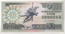 Korea , North , 50 Won 1998 , Capitalist Visitor Issue - Corea Del Nord