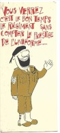 REGIMENT, PRESTIGE UNIFORME, CONSEIL DE REVISION, Jeune Soldat Nu - Humour