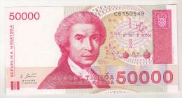 Croatia 50000 Dinars 1993 Unc - Croatia