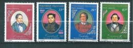 Polynésie  Poste Aérienne De 1977   N°117  A 120  Neuf **   Sans Charnière - Neufs
