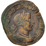 Gordian III, Sestertius, Rome, TTB, Bronze, RIC:336 - 5. L'Anarchie Militaire (235 à 284)