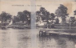 CPA  OUISTREHAM  UN COIN DU CANAL - Ouistreham