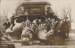 METZ - N° 9 - SOUVENIR DES FETES DE LA LIBERATION D´ALSACE-LORRAINE - MONUMENT DE L´EMPEREUR GUILLAUME 1 RENVERSE - Metz