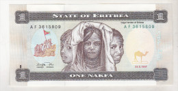 Eritrea 1 Nafka 1997 Unc - Erythrée