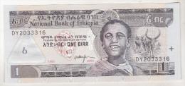 Ethiopia 1 Birr 1995  Unc - Etiopía