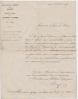 Postes,Aveyron, Rodez,1875,St Jean De Bruel, Meyrueis,Jacob Ulysse,soumission,transport Des Dépêches,moralité,Nant - Autres