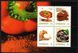 ÖSTERREICH 2014 ** Gulasch Aus Österreich - Block 2, PM Personalized Stamps MNH - Ernährung