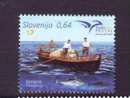 Slovenia 2015 Y Euromed Postal MNH - Eslovenia
