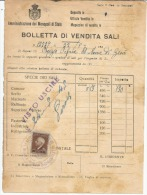 MB8 --- MARCA DA BOLLO -- SU DOCUMENTO DEL 24.5...1945.--- LUOGOTENENZA --- - Italia