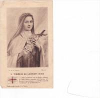 25587- Lot Six 6 Images Pieuses - Relique Sainte Therese -priere Lourdes - Consecration - Mere J Gethsemani