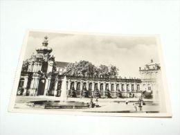 Dresden, Zwingerhof Mit Kronentor, Germany - Dresden