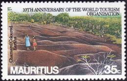 MAURICE 1985 -  Mauritius - YT  636 - Tourisme  -  Oblitéré - Maurice (1968-...)