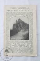 Ente Nazionale Industrie Turistiche - Venecia / Venice Tridentina - Spanish Edition Tourism Brochure - Folletos Turísticos