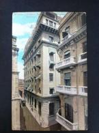 HABANA EDIFICIO BARRAQUES HOTEL UNION POSTAL CIRCULADA A BARCELONA 1926 - Postales