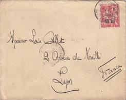 Lettre De Chine, French Occupation Tientsin 1910 - Chine