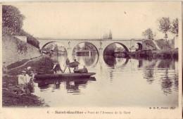 36 6 SAINT GAULTIER Pont De L'Avenue De La Gare - Non Classés