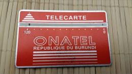 Landdis & Gyr Burundi 120 Units 106 C Used  See Quality Scan Very Rare - Burundi