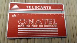 Landdis & Gyr Burundi 120 Units 001 B Used  See Quality Scan Very Rare - Burundi