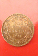 One Cent 1911 - Canada