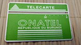 Landdis & Gyr Burundi 50 Units 406 A Used  See Quality Scan Very Rare - Burundi