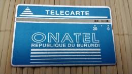 Landdis & Gyr Burundi 20 Units 212 K  Used  See Quality Scan Very Rare - Burundi