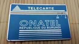 Landdis & Gyr Burundi 20 Units 001 B  Used  See Quality Scan Very Rare - Burundi
