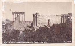 Libia--Baalbeck--1935--Vue D'Ensemble Des Temples De Jupiter Et De Soleil-- - Libia