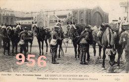 CPA * * Cavaliers Anglais Venant De Débarquer En France * *  Guerre 1914/1918 - War 1914-18