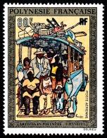 POLYNESIE 1973 - Yv. PA 80 **   Cote= 29,00 EUR - Tableau De J-F Ravelot ..Réf.POL22824 - Poste Aérienne