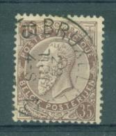 """BELGIE - OBP Nr 49 - Leopold II - Cachet  """"BRUXELLES 13"""" - (ref. ST-151) - 1884-1891 Leopold II"""
