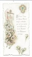 IMAGE PIEUSE.. édit Turgis Fils Pl 75... Heureuse L'âme Que Jésus-Christ.. - Images Religieuses