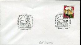 5661 Italia, Special Postmark 1987 Alba Canazei World Hockey Champ.    5.4.1987 Closing Day !!! - Hockey (sur Glace)