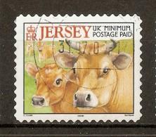 2001 - Vaches Et Produits Fermiers - Têtes De Vaches N°974 - Jersey
