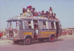 Karachi       H7       People Travelling On Mini Bus In Karachi - Pakistan