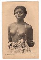 FEMME NUE Posant - Jeune Fille Onolof- Ed. Fortier, Dakar - Afrique Du Sud, Est, Ouest