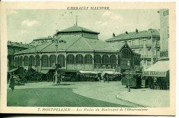 MONTPELLIER (34) - Les Halles Du Boulevard De L'Observatoire - Montpellier