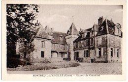 Cpa  Montreuil L'Argillé   Manoir De Cernières      TBE - Louviers