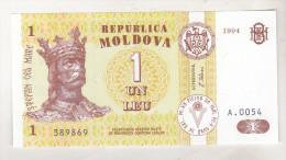 Moldova 1 Leu 1994 Unc - Moldova