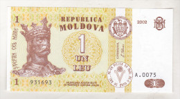 Moldova 1 Leu 2002 Unc - Moldova