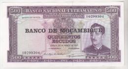 Mozambique 500 Escudos 1967 Unc - Mozambique