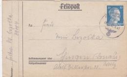 Feldpost WW2: 1. Kompanie Leichte Radfahr-Strassen-Bau-Bataillon 503 FP 39004 P/m 30.4.1943 - Franked With 20pf Hitler H - Militaria
