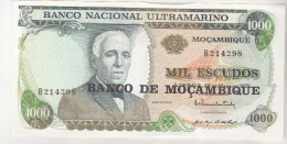 Mozambique 1000 Escudos 1972 Unc - Mozambique