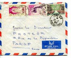 TOGO - Lettre Par Avion De Lomé Pour Paris 1961 - Togo (1960-...)