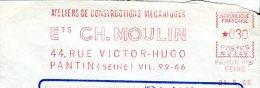 Constructions Mécaniques - EMA Secap 1965 Sur Devant D'env. - Jobs