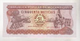 Mozambique 50 Meticais 1986 Unc - Mozambique