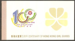 2016 HONG KONG CENTENARY OF GIRL GUIDES  BOOKLET - 1997-... Région Administrative Chinoise